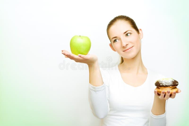 välja för äpplecake royaltyfri bild