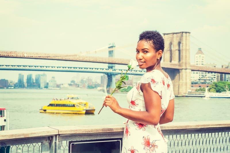 Välkomna dig till New York royaltyfria bilder
