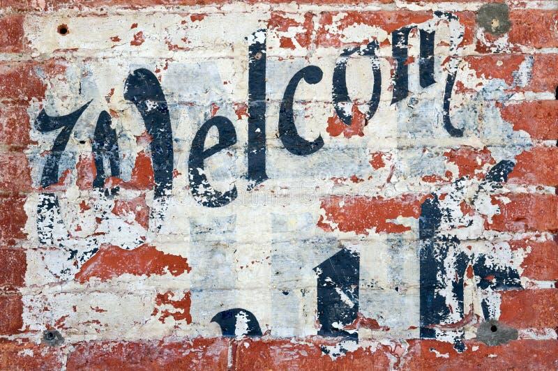 välkomnande arkivbilder