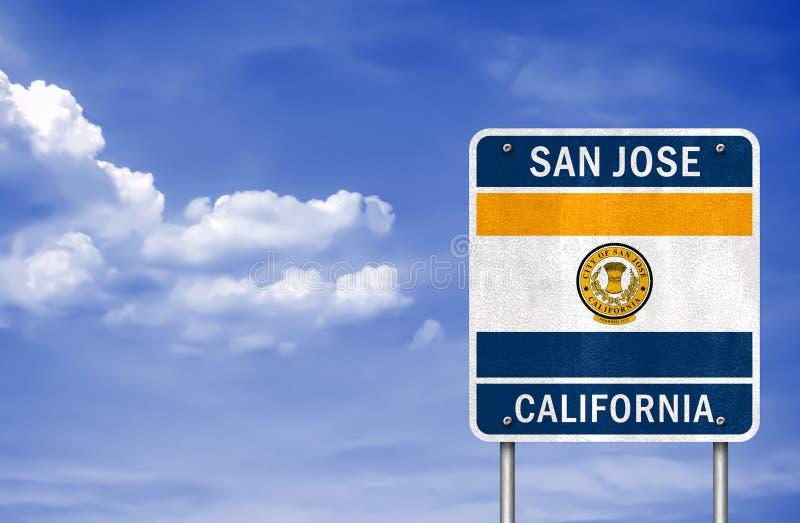 Välkomnande till San Jose royaltyfri bild