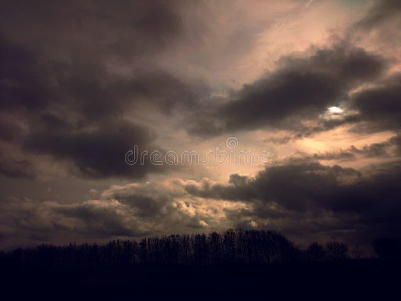Välsigna för himlar arkivfoto