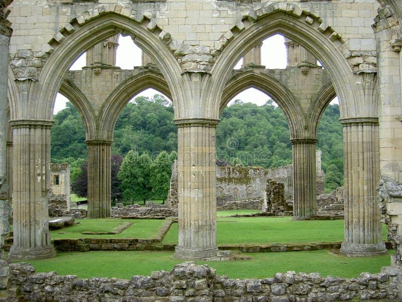 välva sig gotiskt royaltyfri foto