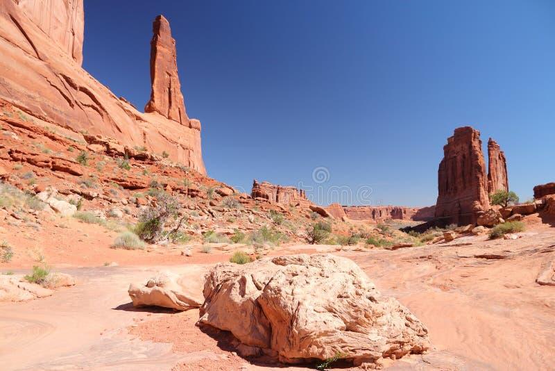 välva sig nationalparken royaltyfria foton