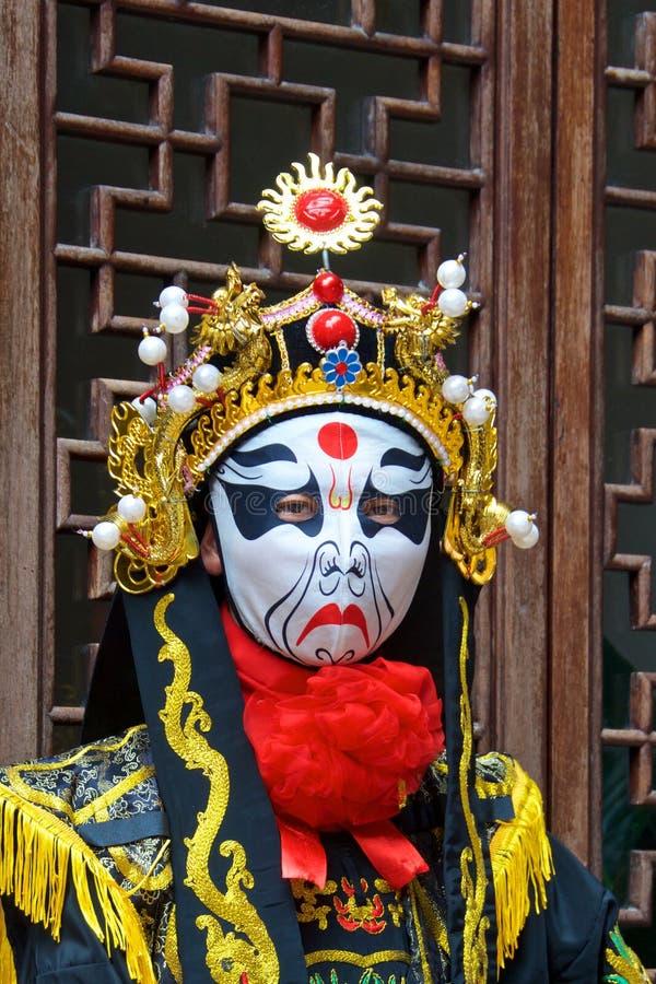 Vänd ändrande aktörer i Chengdu, Kina mot royaltyfri foto