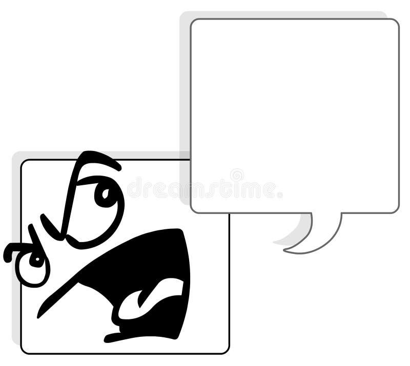 vänd fyrkanten mot vektor illustrationer
