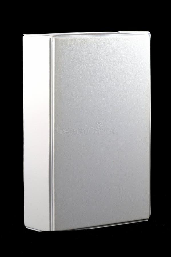 vänd mot svart blank ask 3d arkivfoto