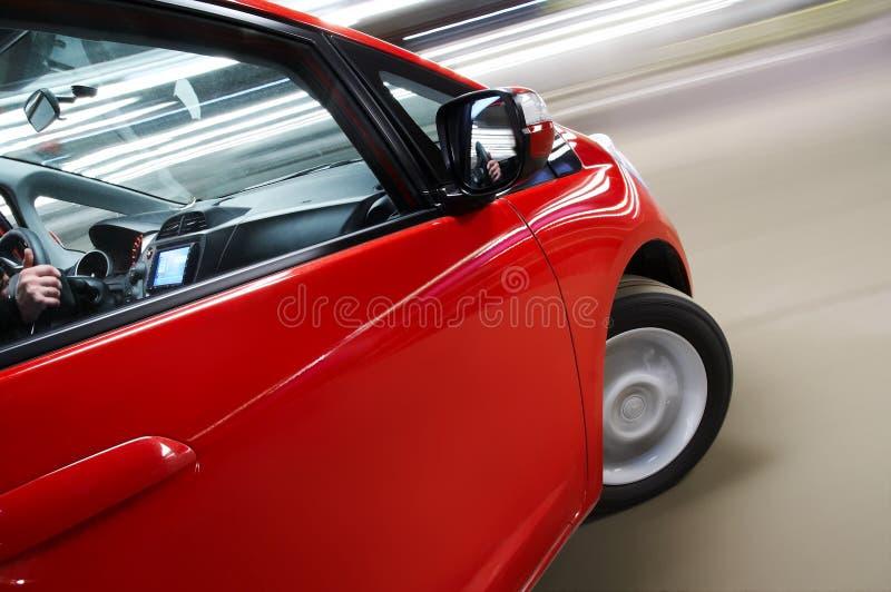 vända för bil royaltyfri bild