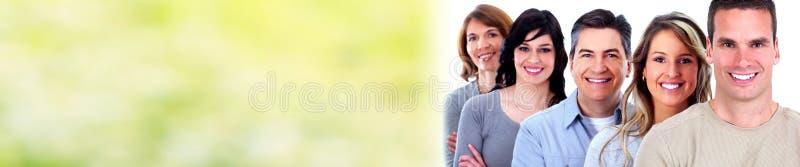 vänder att le för folk mot fotografering för bildbyråer
