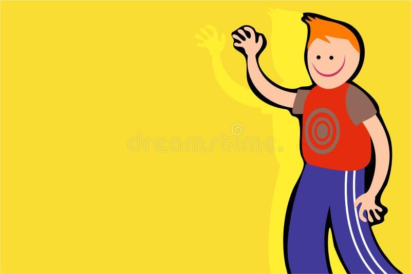 Download Vänlig hälsning vektor illustrationer. Illustration av livstid - 287324