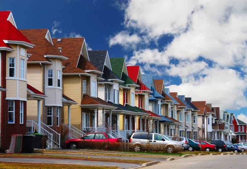 vänlig neighbourhood royaltyfri fotografi