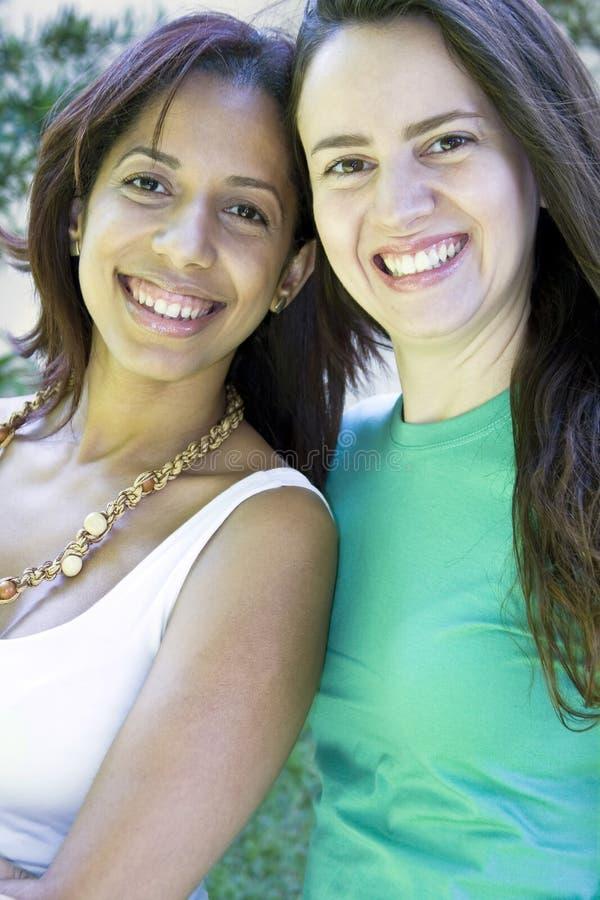 vänner två royaltyfri fotografi