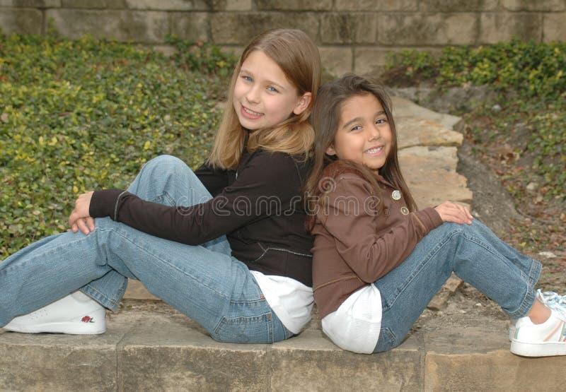 vänsystrar royaltyfri fotografi