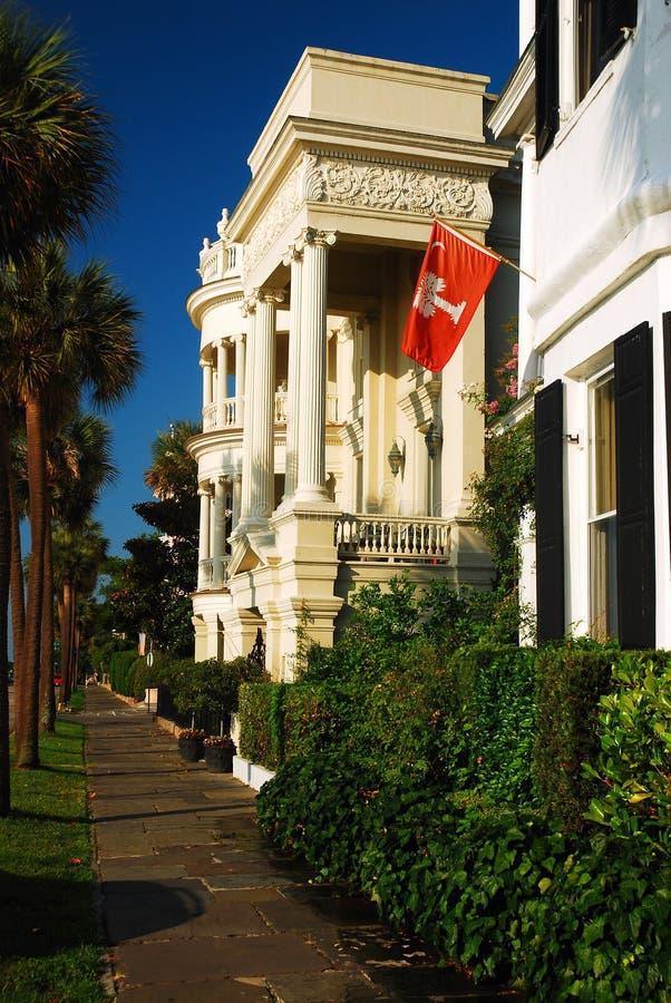 Värdiga hem av charlestonen, South Carolina royaltyfria bilder