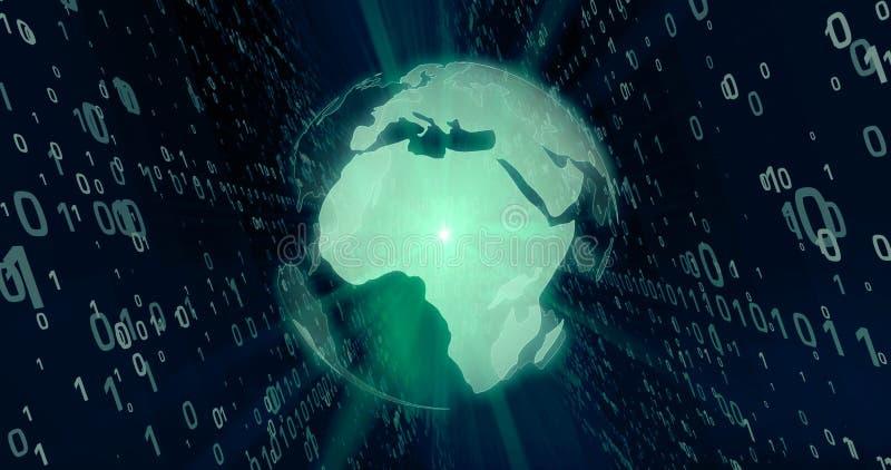 Värld av begreppet för digital teknologi fotografering för bildbyråer