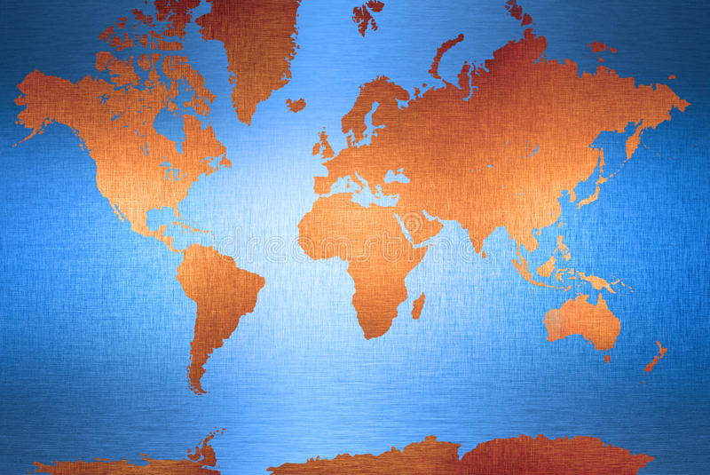 värld för bakgrundskontinentöversikt royaltyfri illustrationer
