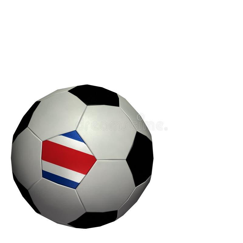 värld för fotboll för rica för costakoppfotboll vektor illustrationer