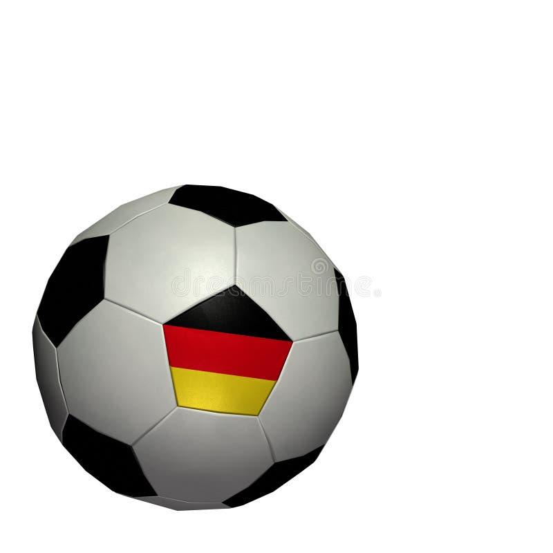 värld för koppfotbollgermany fotboll stock illustrationer