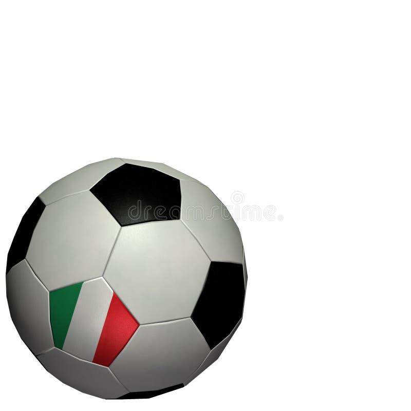 värld för koppfotbollitaly fotboll vektor illustrationer