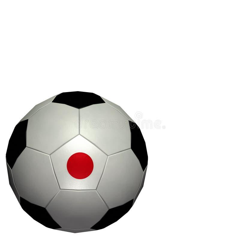 värld för koppfotbolljapan fotboll royaltyfri illustrationer