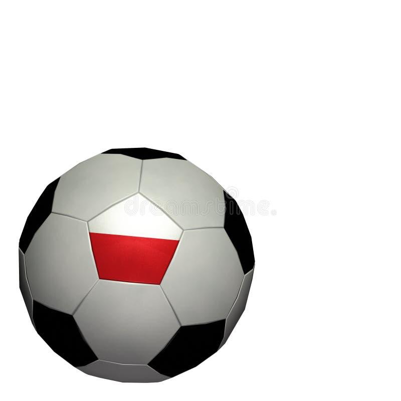 värld för koppfotbollpoland fotboll vektor illustrationer