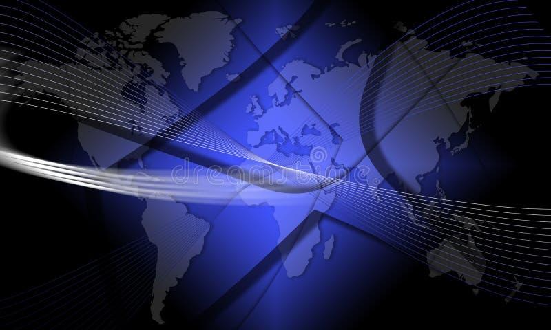 värld för ytterkant avstånd för effekt vektor illustrationer