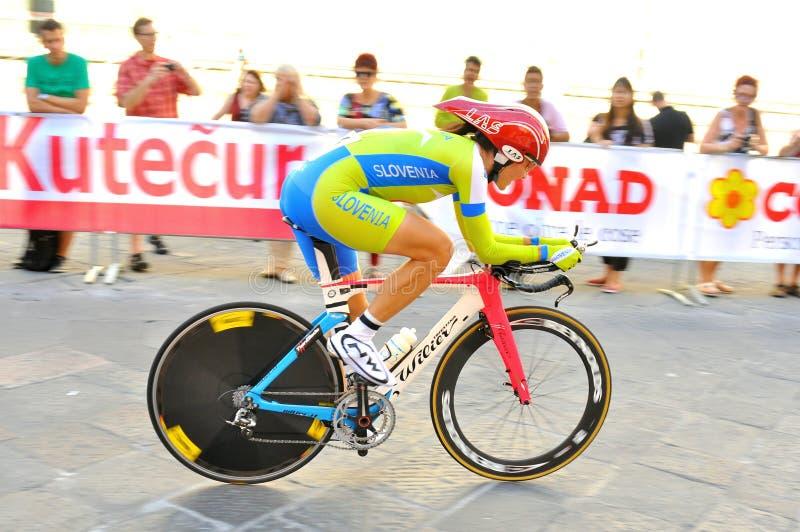 Värld som cyklar mästerskap i Florence, Italien arkivfoto