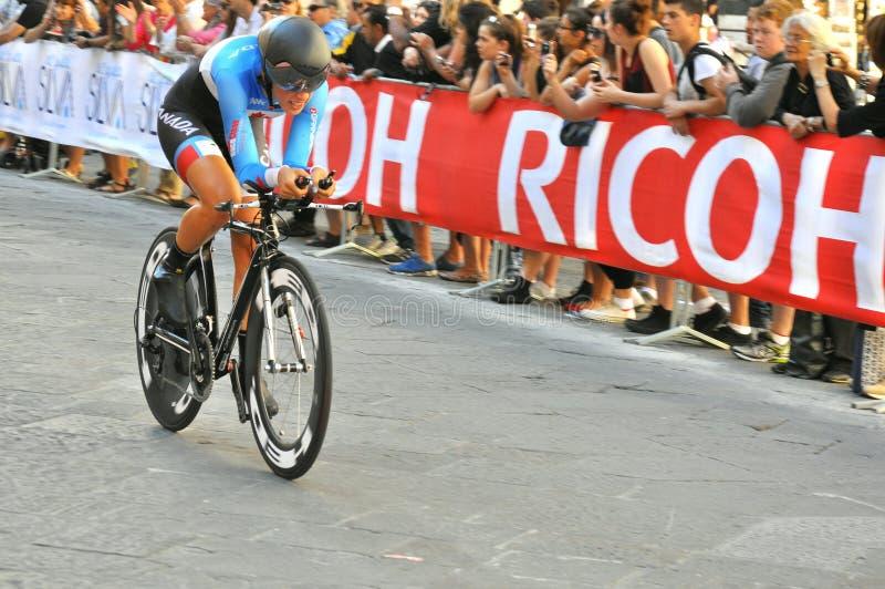 Värld som cyklar mästerskap i Florence, Italien royaltyfri foto