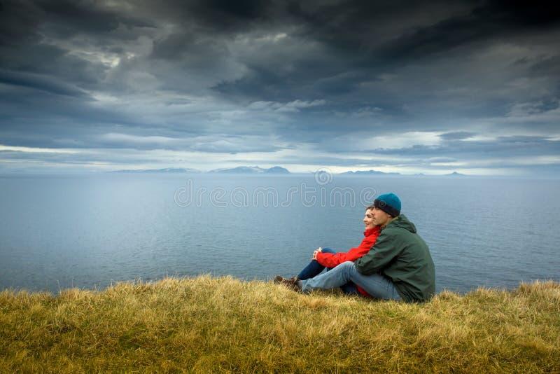 Världen är mer härlig på två fotografering för bildbyråer
