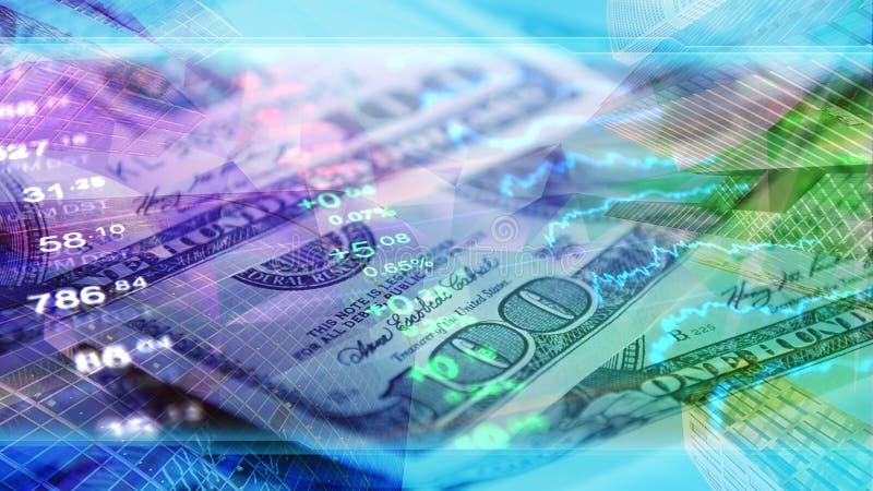 Världsekonomi finans, affär, investerar tapeten arkivbild