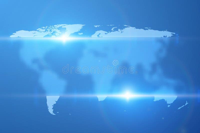 Världskartavektorbakgrund EPS10 vektor illustrationer