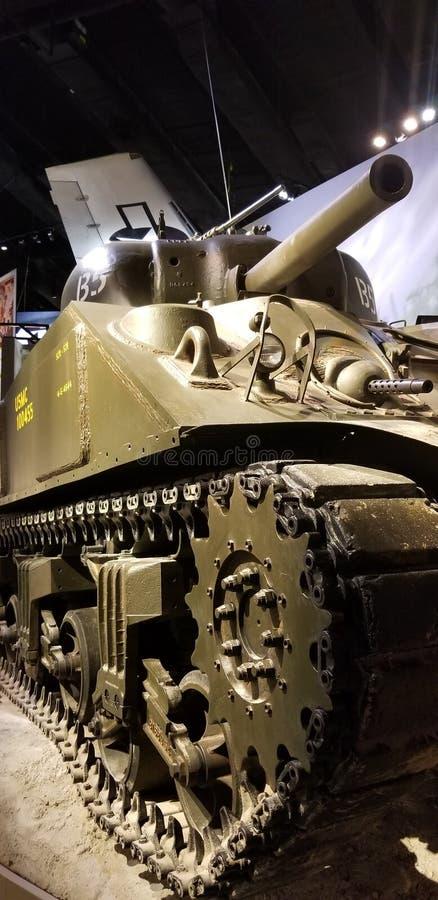 Världskrig II Marine Corps M1 Sherman Tank royaltyfria foton
