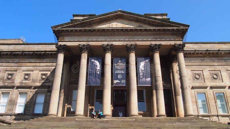 Världsmuseet i Liverpool, England arkivbilder