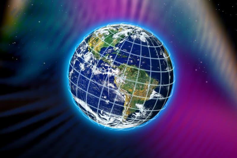 Världsplanetjord vektor illustrationer