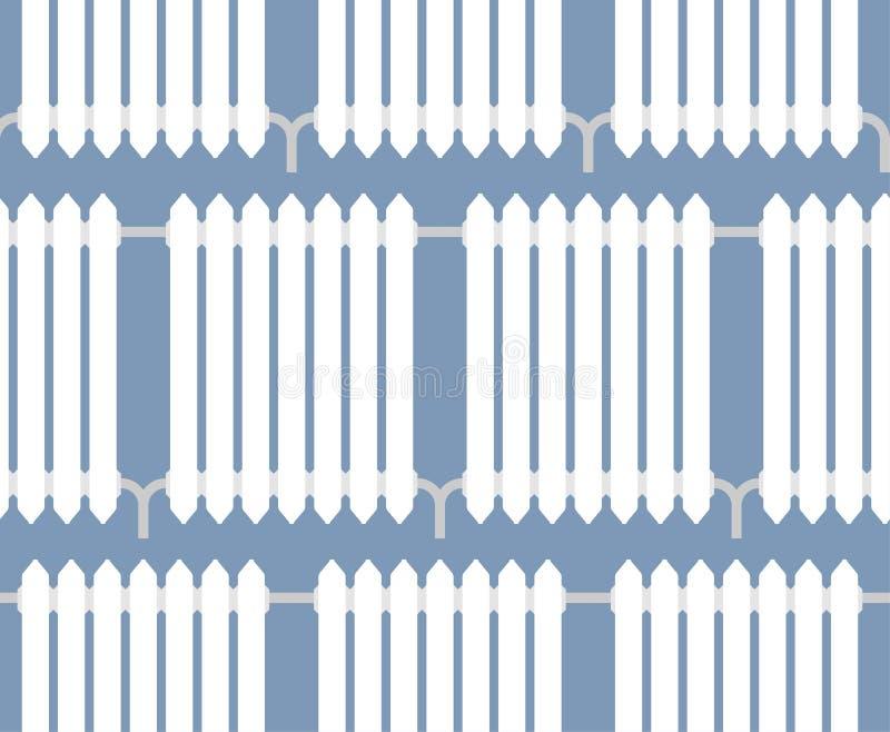 Värma elementmodellen sömlös system för metallelementuppvärmning stock illustrationer
