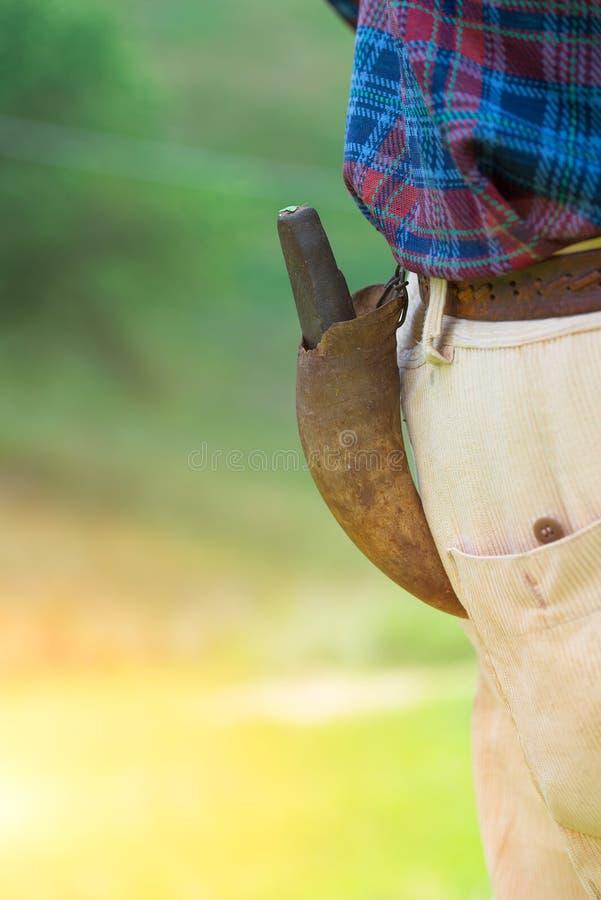 Vässar speciellt lien för hö som göras från kohorn arkivfoton