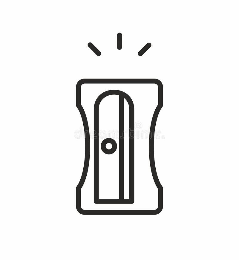 Vässaresymbol royaltyfri illustrationer