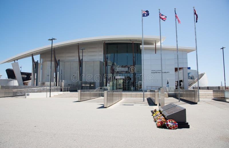 Västra australiskt maritimt museum royaltyfria bilder