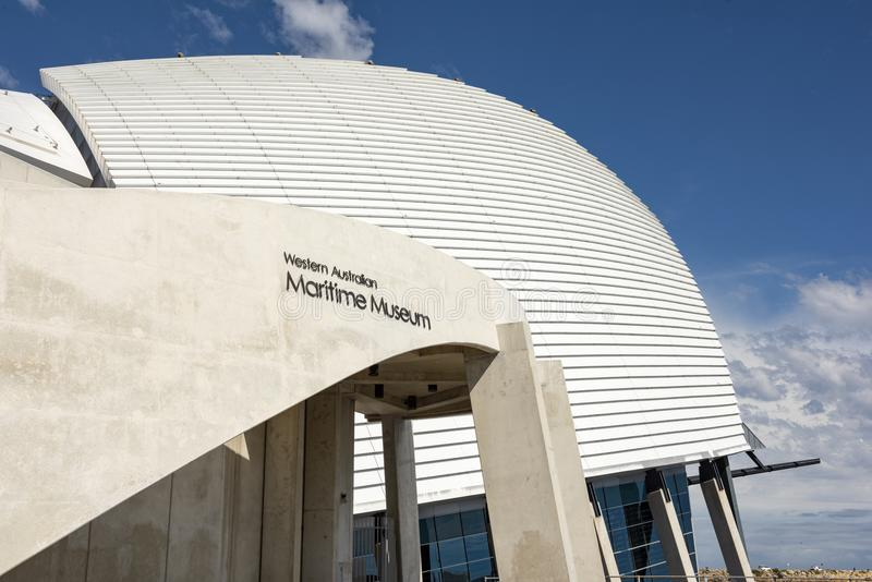 Västra australiskt maritimt museum, Fremantle royaltyfria bilder