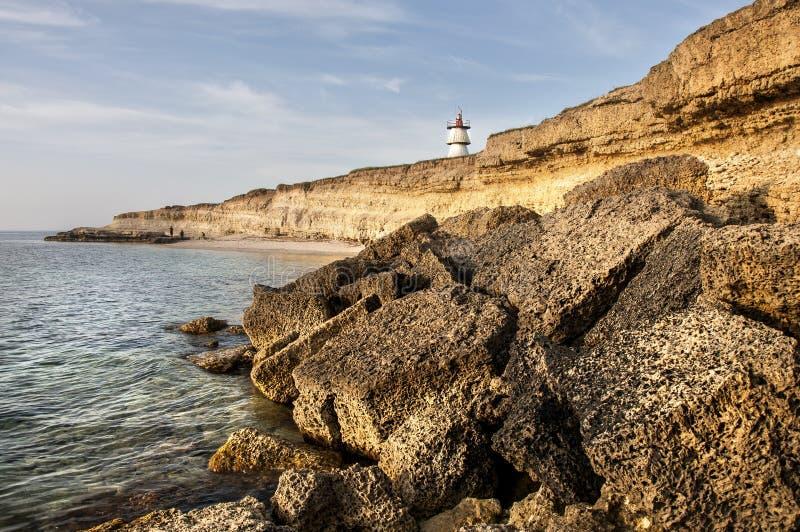 Västra Crimean kust royaltyfri foto