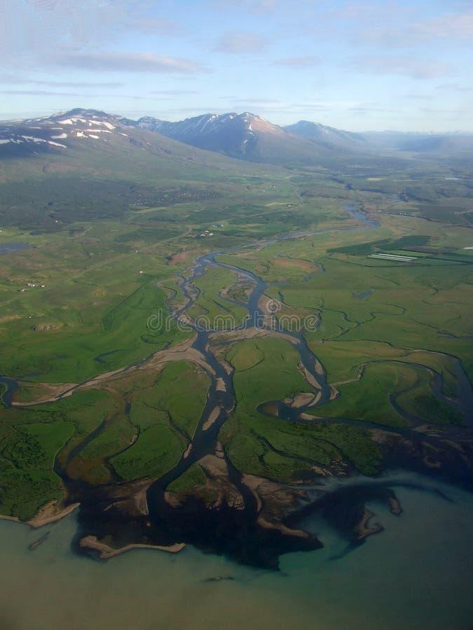 västra fjords royaltyfri bild