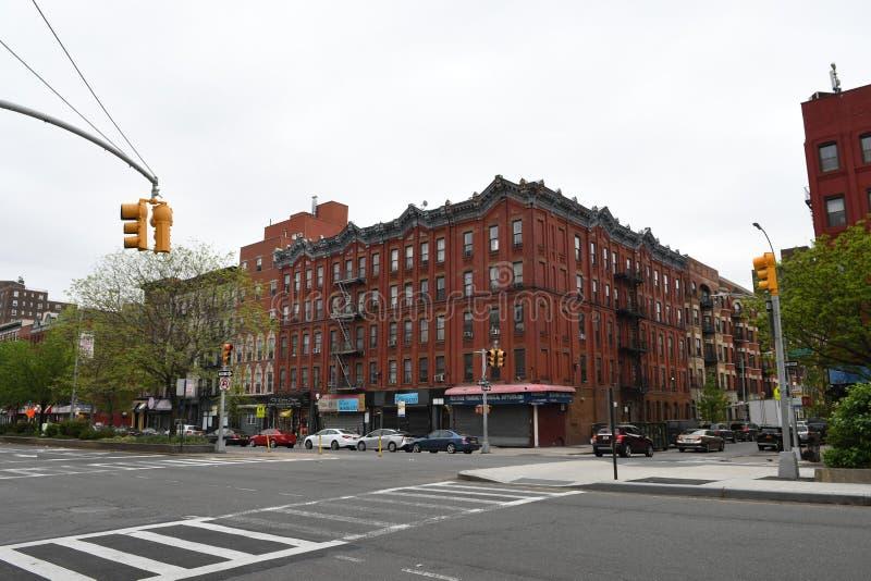 Västra Harlem, New York City fotografering för bildbyråer