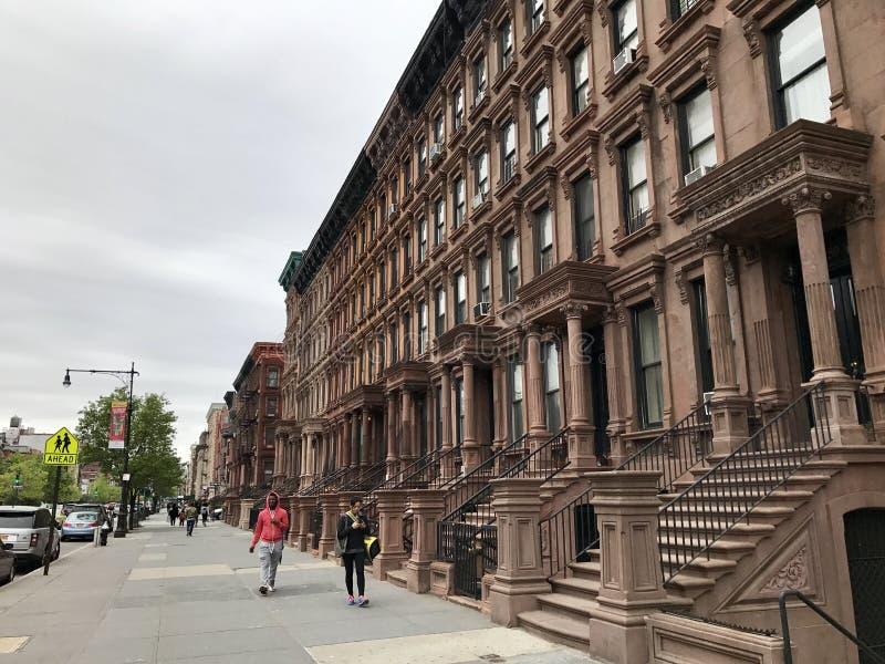 Västra Harlem, New York City arkivbild