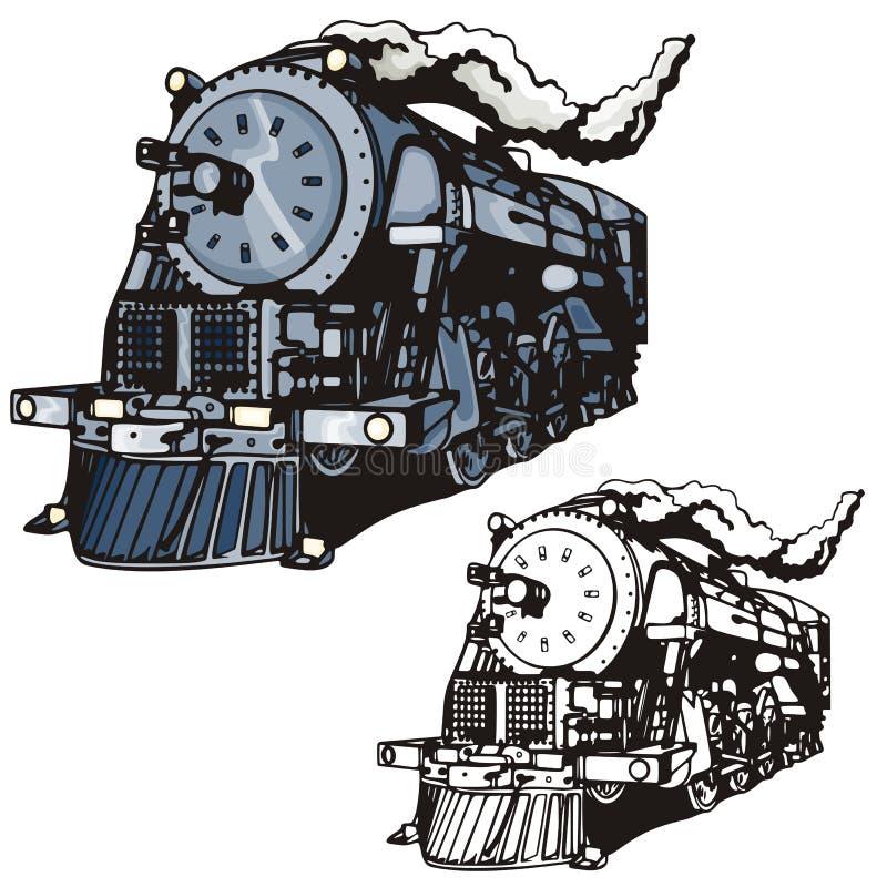 västra illustrationserie vektor illustrationer