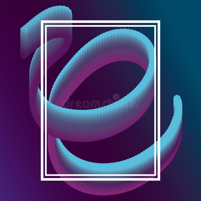 Vätska formad design vektor illustrationer
