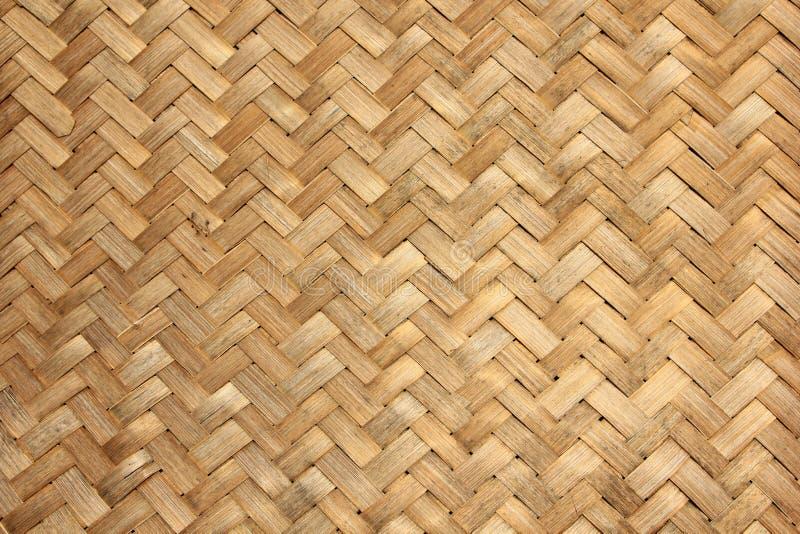 Vävd bambu royaltyfri foto