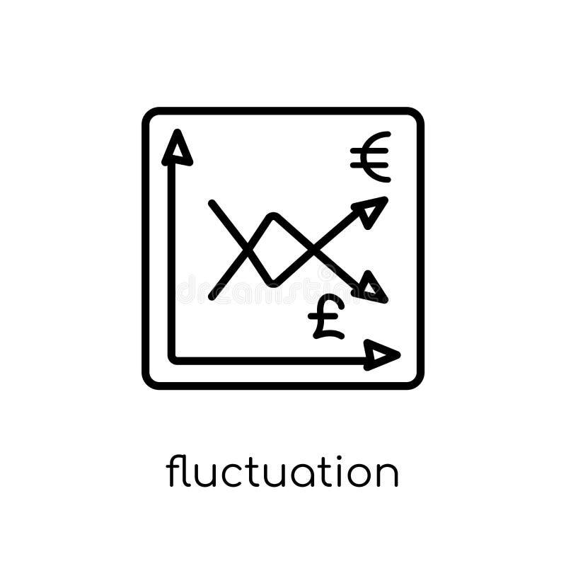Växlingssymbol Moderiktig modern plan linjär vektorväxling mig stock illustrationer