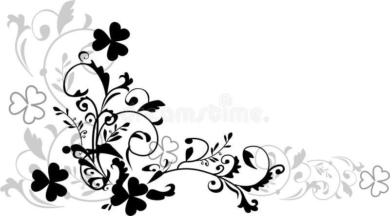 växt av släkten Trifoliummodell royaltyfri illustrationer