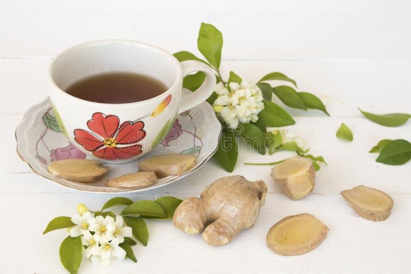 Växt- sund drink för varm ljust rödbrun fruktsaft från naturen arkivfoto
