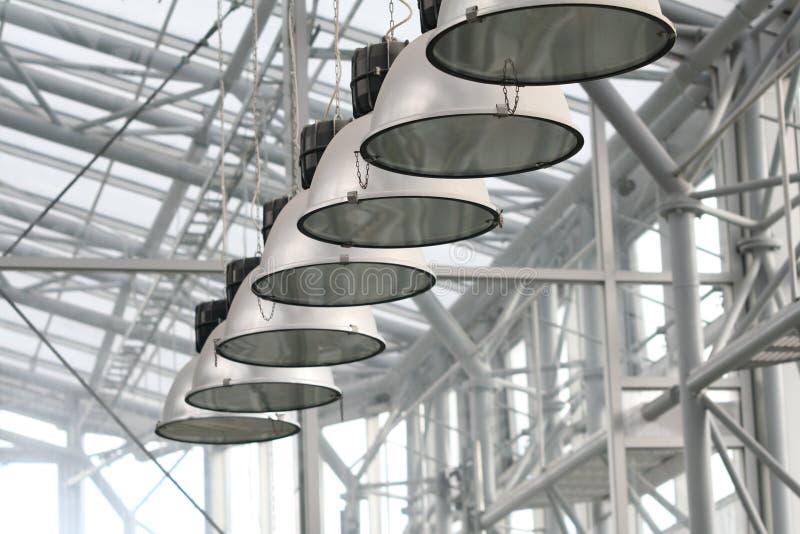 växthuslampor royaltyfri bild