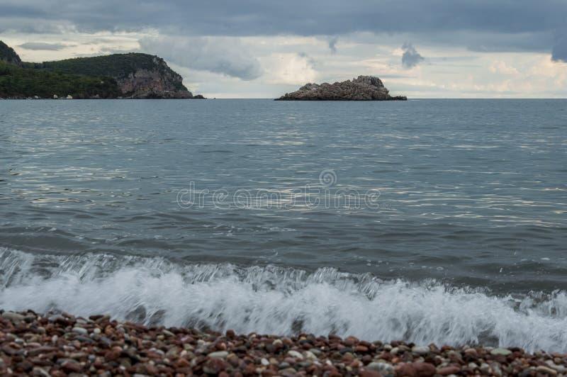 Våg för ‹för †för havs fotografering för bildbyråer
